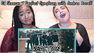 Ed Sheeran - Perfect Symphony ft. Andrea Bocelli | REACTION