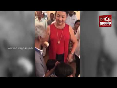 See how former first lady of Sri Lanka Shiranthi Rajapaksa celebrates her birthday