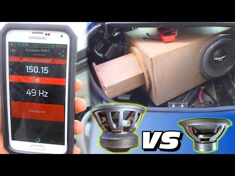 Subwoofer BATTLE! 150db Deaf Bonce VS HANNIBAL 15 w/ SPL Octoport Box Tuning | TESTING FX38 & DB415