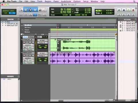 Pro Tools Basics Lesson 5 - Audio Editing (5 of 13)