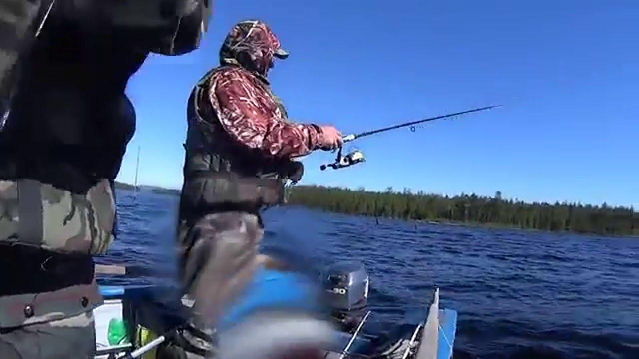 рыбалка в карелии 2015г