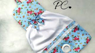 Puxa-Saco Em Formato De Vestido
