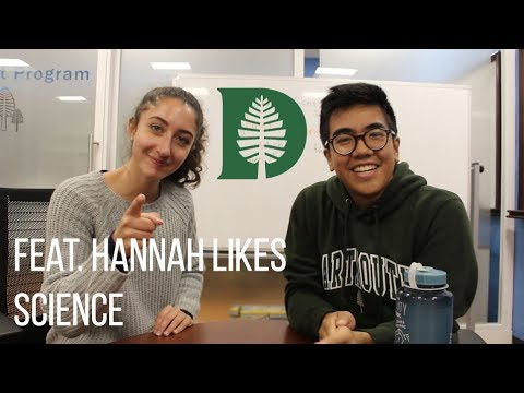 Our First Impressions of Dartmouth Pt. 1 FEAT. HANNAH LIKES SCIENCE