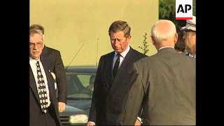 France - Diana's coffin leaves for UK