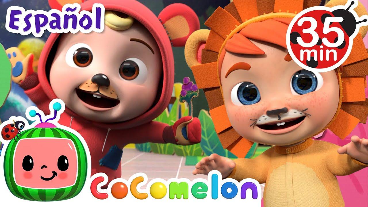 CoComelon en Español | Noche de brujas en la escuela | Canciones Infantiles y de Cuna