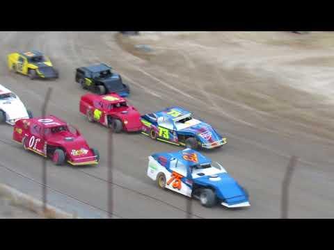 Desert Thunder Raceway I.M.C.A Modified Heat Races 4/28/18
