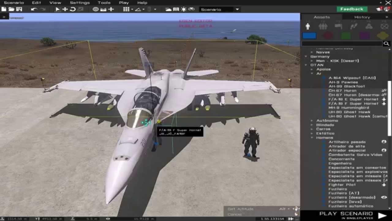 Arma 3: 3D Editor - Eden Editor