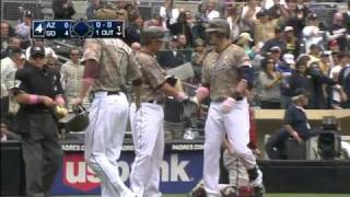 2011/05/08 Cantu's three-run blast