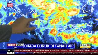 Prediksi BMKG Terkait Curah Hujan Hingga Februari 2017