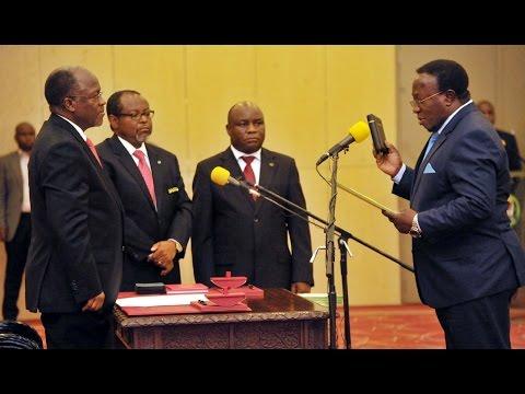LIVE: Rais Magufuli Awaapisha Mwakyembe, Dk. Kabudi, Azungumzia tena Mitandao ya Kijamii na Magazeti