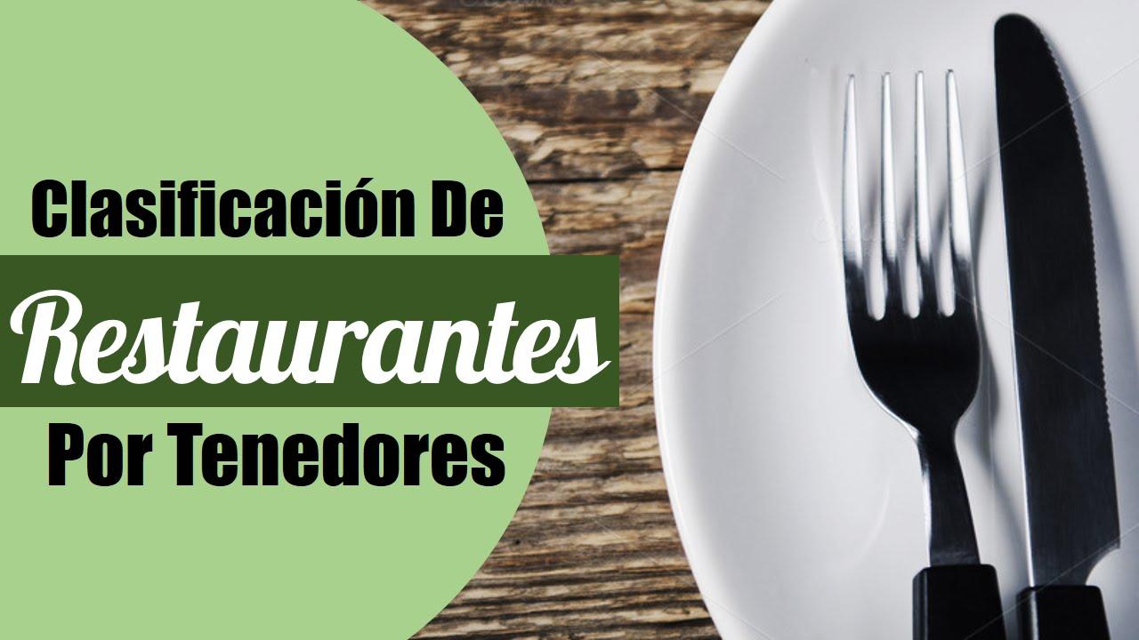 Clasificacion de restaurantes por tenedores cursos for Tipos de restaurantes franceses