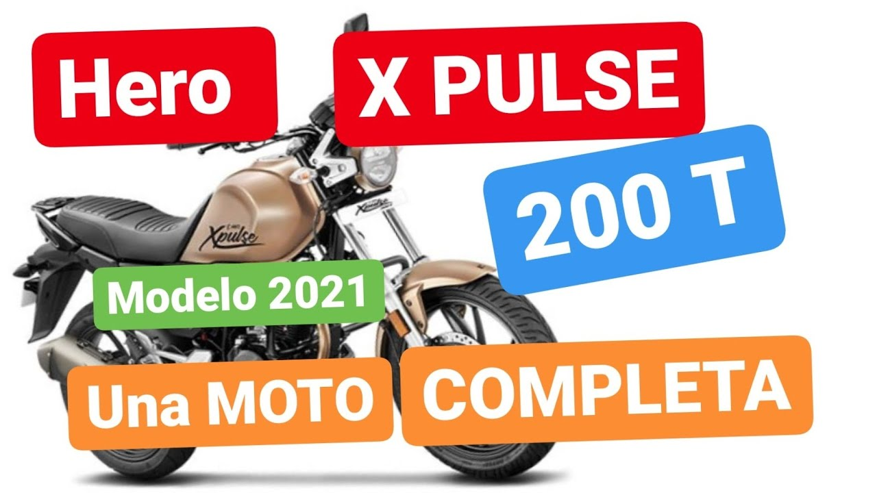 Hero XPULSE 200 T.... Una MOTO muy COMPLETA....