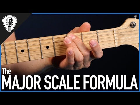 The Major Scale Formula - Free Guitar Lessons