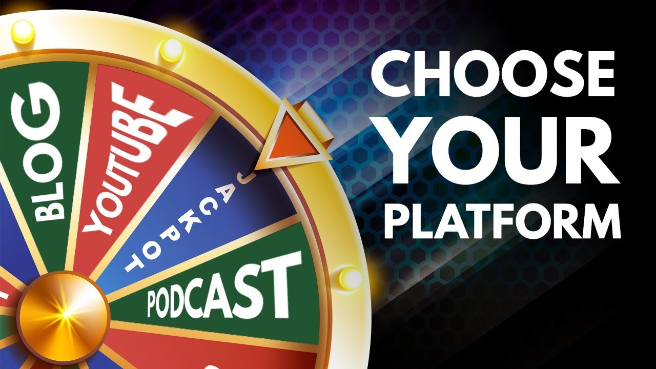 Which Content Platform is Right for You? YouTube, Blog, Podcast? (The Income Stream Day 67)