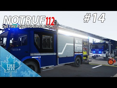Notruf 112/ Emergency Call 112 - THW Potsdam - English Gameplay