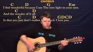 Wonderful Tonight (Eric Clapton) Easy Strum Guitar Cover Lesson with Lyrics Mp3