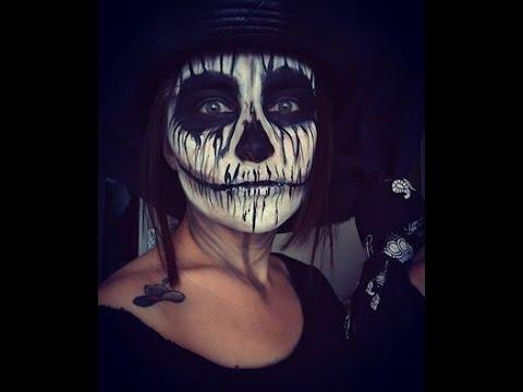 Skeleton Makeup Halloween / İskelet Makyajı