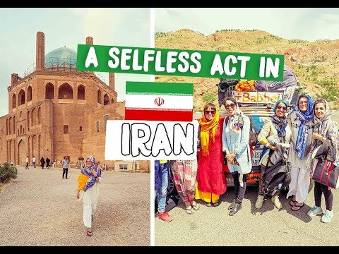 A SELFLESS ACT AND A BIG BLUE DOME IRAN - MONGOL RALLY 2018