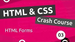HTML & CSS Crash Course Tutorial #3 - HTML Forms