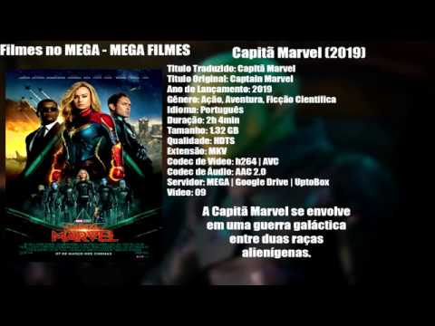 🎬 Download Capitã Marvel (2019) Dublado 1080P 720P🎬