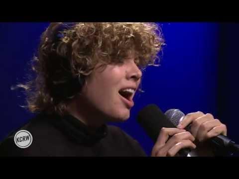 "Amason performing ""Algen"" Live on KCRW"