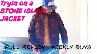 Stone Island Camo Jacket Unboxing & Review | Weekly Buys | BBClothing.com Pt.1