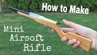 How to Make a Mini Air Rifle that Shoots - Out of Medical Syringe
