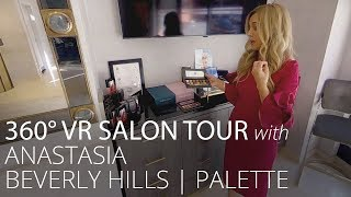 360°  VR Tour with Anastasia Beverly Hills: Palettes | Feelunique