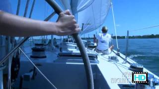 Sailing on The Heritage with 12 Meter Charters - Newport, RI