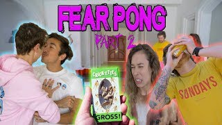 COUPLES FEAR PONG (PART 2) ft. Colby Brock, Scotty Sire, & Kristen McAtee