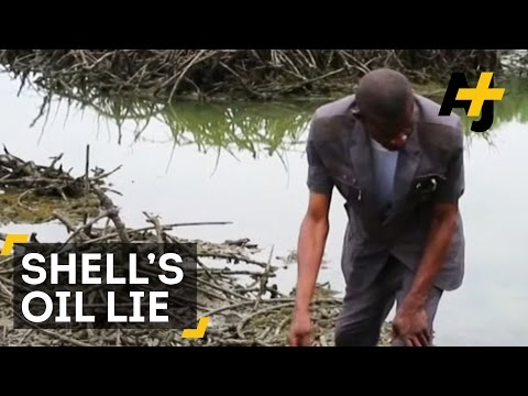 Shell Lied About Cleaning Up Oil In Niger Delta