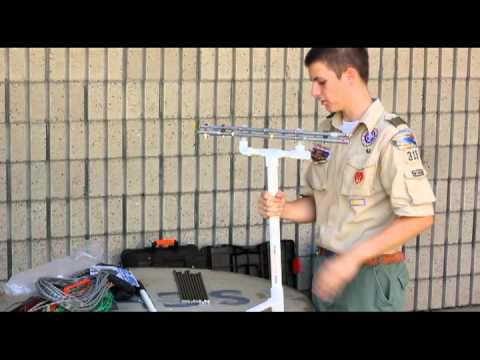 Radio GoKit Elk Log Periodic Antenna Assembly dv