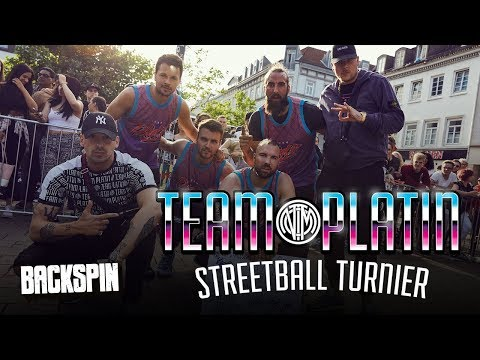 """Bonez MC & Raf Camora: Sport und """"Palmen aus Plastik 2"""" beim """"Team Platin"""" Streetballturnier"""