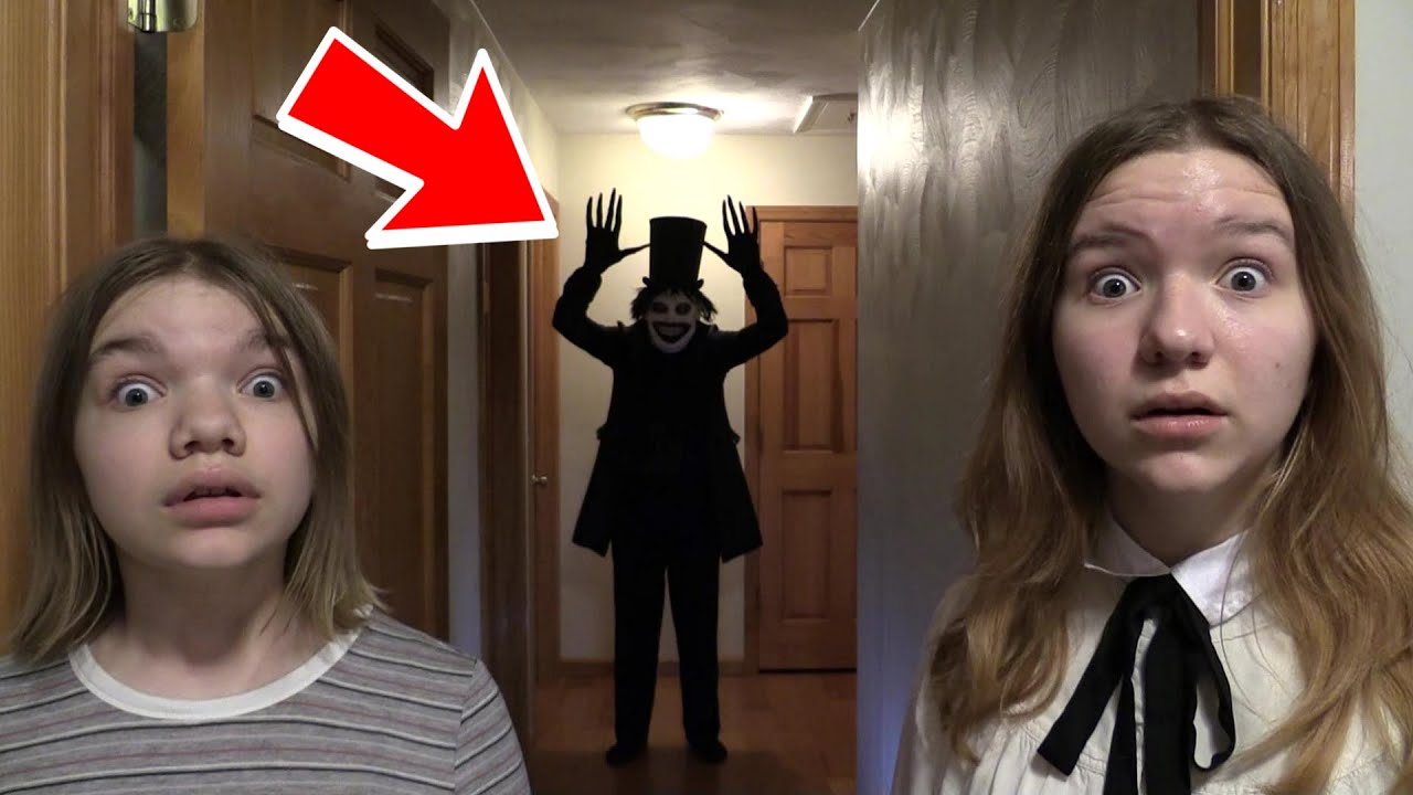 THE BABADOOK IN OUR HOUSE. (SCARY)