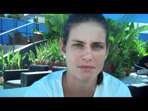Interview with Julia Goerges from 2011 Australian Open