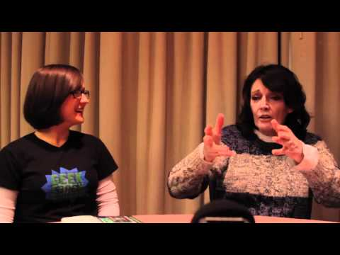 Sarah Douglas Interview from I-CON - Geek Crash Course