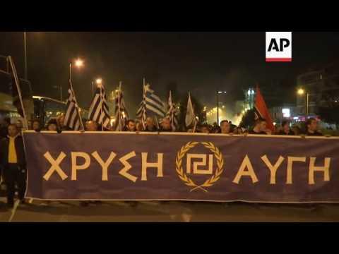 Greece's Golden Dawn marks key anniversary