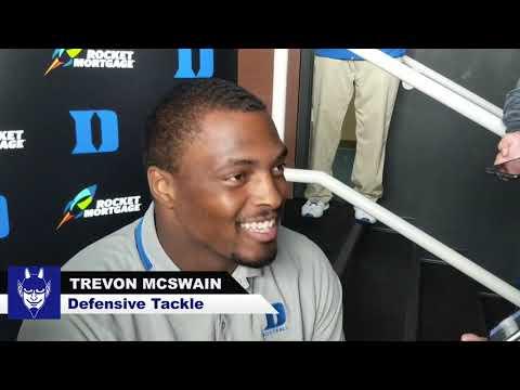 Virginia Pre Game    Trevon McSwain