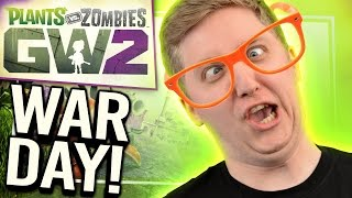 WAR DAY AT YOGTOWERS   Plants vs. Zombies Garden Warfare 2
