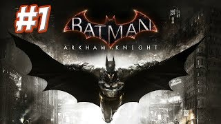 """Batman: Arkham Knight"" Walkthrough (Hard), Part 1 - Prologue + Poison Ivy"