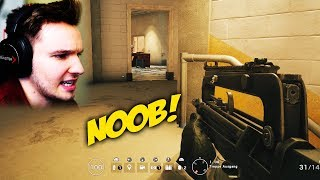 NOOB SPIELT RAINBOW SIX ?!? | Tom Clancy's Rainbow Six Siege