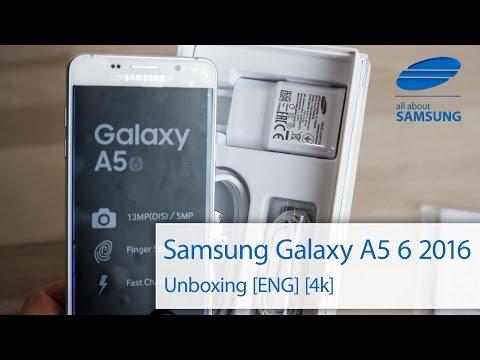Samsung Galaxy A5 6 2016 Unboxing english 4k UHD