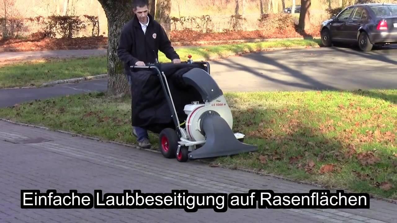 cramer laubsauger abfallsauger ls 5000 h silent wings - youtube