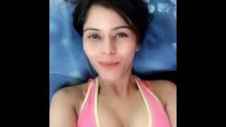 Gehana vasisth good night video