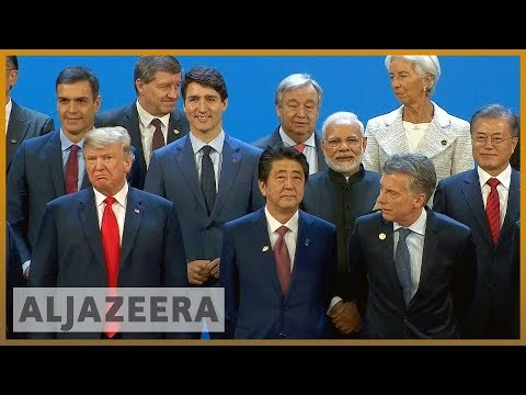 🌎Trump diverges with G20 partners on climate change, protectionism | Al Jazeera English