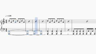 【ピアノ楽譜】アカツキ/ジャニーズWEST