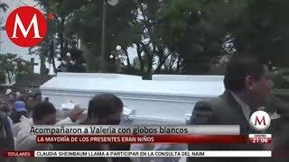 Conmoción en sepelio de la pequeña Valeria de Melchor Ocampo