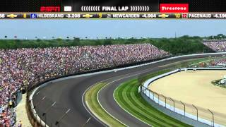 Increíble triunfo Indianapolis 2015 jp montoya.