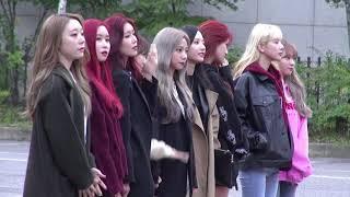 20181019 우주소녀(WJSN) 뮤직뱅크(MusicBank) 출근길