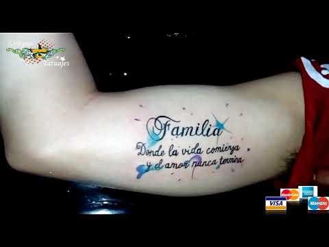 Urbano Tatuajes Familia Tattoo Youtube